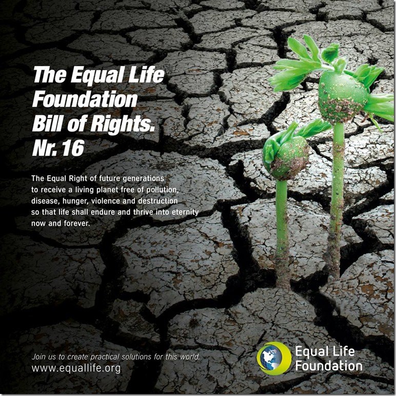 Equal Life Foundation - Bill of Rights